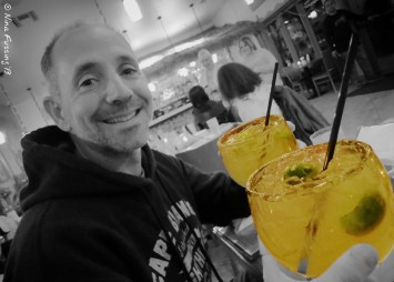 Another head-sized margarita...yeah!