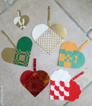 A home-made Danish Christmas Heart is also a lovely gift!