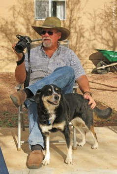 We've met many RVers who part-time. This is the famous Al (& Pheebs) from Bayfield Bunch