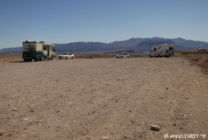 Another view down first fork. This is a very large site and has filled with 2 RVs.