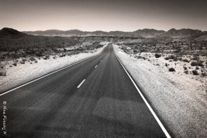Lonely highway. Just my kinda thing!
