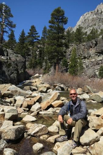 Eagle Lake Falls Trail in S.Lake Tahoe