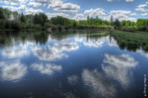 The lovely Deschutes River