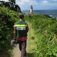 """On the """"Job"""" At North Head Lighthouse – Cape Disappointment, WA"""