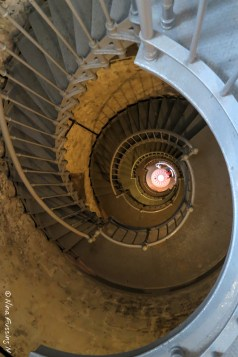 The 135 staircase is pristine & ornate