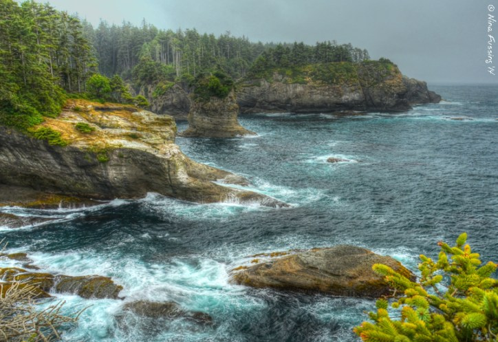 At little HDR magic on the edge of the world at Cape Flattery, WA