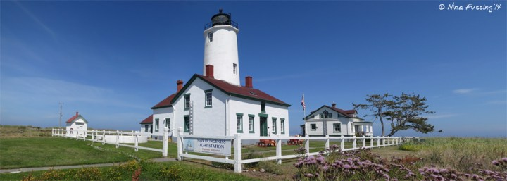Panorama of the lovely Lighthouse