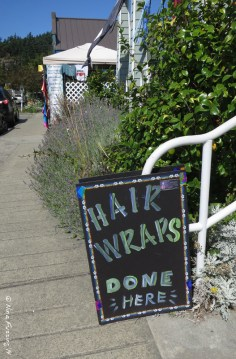Hair wraps anyone? There's still a bit of hippy in Orcas