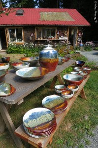 Enchanted Orcas Island Pottery