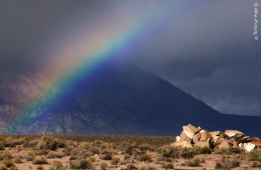 Super dark rainbow