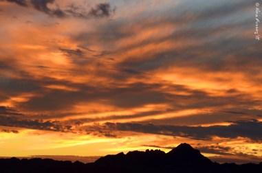 Just another desert sunset
