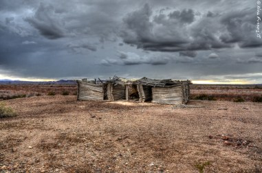 The Heart Cabin just south of Cibola