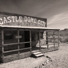 The Living Ghost Town – Castle Dome City Museum, KOFA AZ