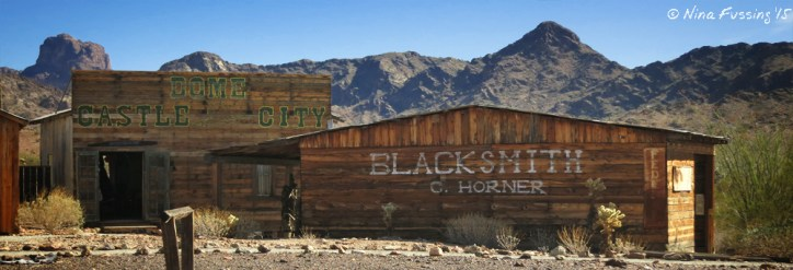 Blacksmith's sharpened drills, amongst other things, and were key to every mining town