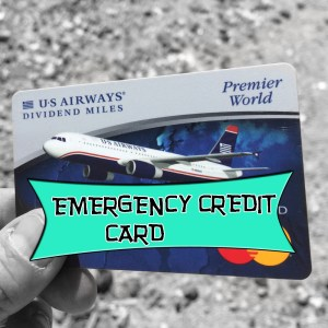 My #1 tip for everyone. Always have a back-up credit card!