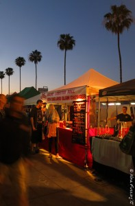 It's a festival of color & sound at OB farmer's market
