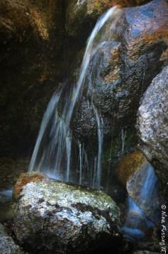 A pretty little waterfall