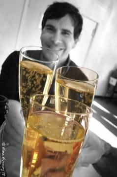 Champagne at Sage Restaurant