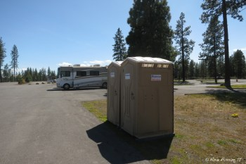 View of Porta Porties by the RV area