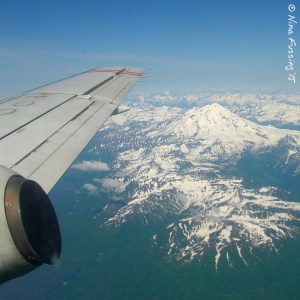 Flying into Anchorage, AK