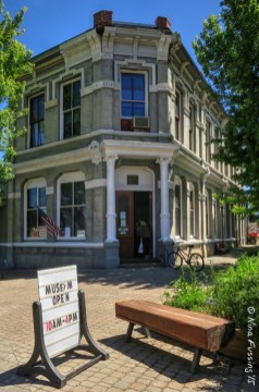 The downtown Wallowa County Museum