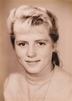 My mom as a young woman