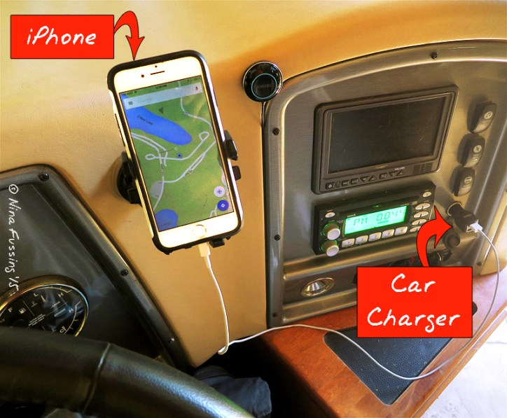 Our GPS hack in the RV