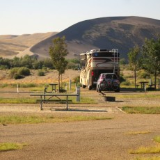 SP Campground Review – Bruneau Dunes State Park, Mountain Home, ID