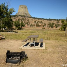 NM Campground Review – Belle Fourche Campground, Devil's Tower National Monument, WY