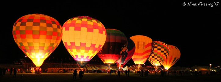 Dawn Patrol Glow at the Balloon Fiesta. Just amazing!