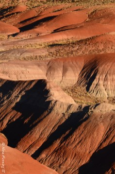 Painted Desert under the zoom