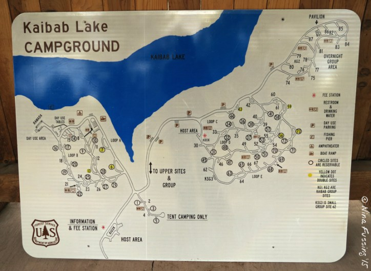 View of campground map. Click for larger size.