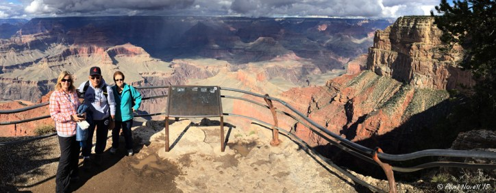 Out with the family on the rim of the Grand Canyon (Oct, 2015)