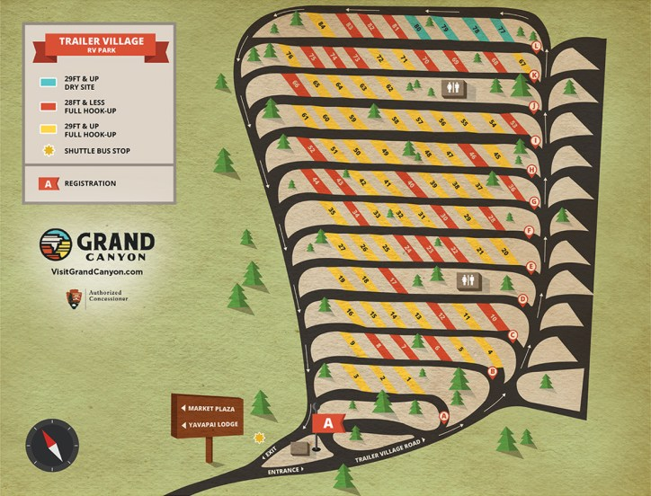 Campground Map (from website). Click for larger image.