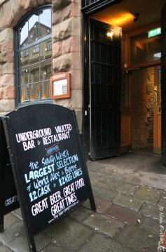 Entrance to Beer Emporium
