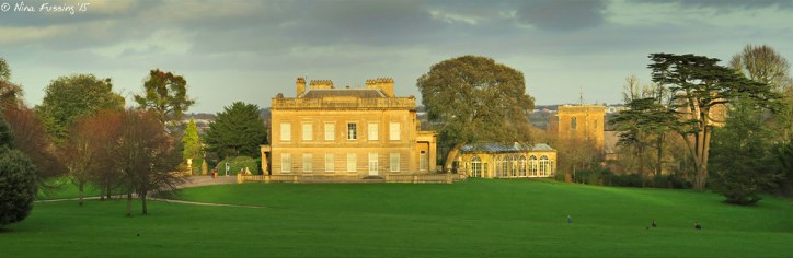 The 19th century manor on Blaise Castle Estate