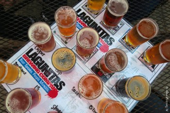 The full taster at Lagunitas is BIG dog size