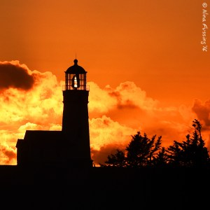 The beautiful Cape Blanco Light
