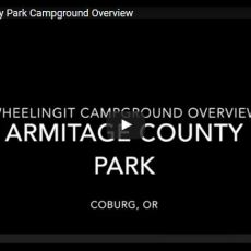 Campground Video – Armitage County Park, Eugene, OR
