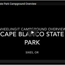 Campground Video – Cape Blanco State Park, Sixes, OR