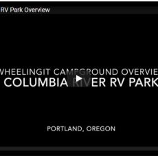 Campground Video – Columbia River RV Park, Portland, OR