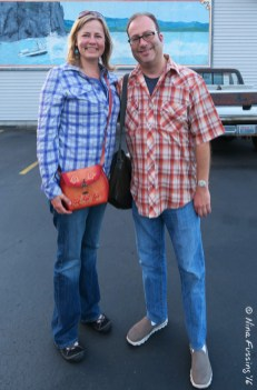 Me and my college buddy Dan. We match too!