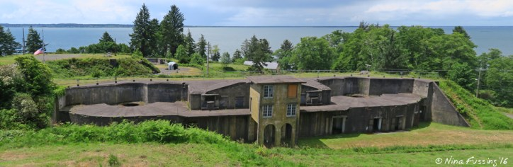 View of Battery Ord from the interpretive center