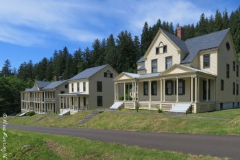 Original barracks and officers buildings. Everything is in fabulous condition.