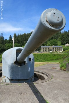 The 6-inch guns at Battery 246