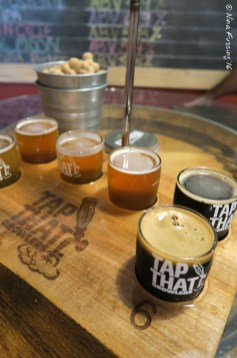 A superb tasting at Tap That Growlers downtown