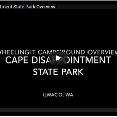 Campground Video – Cape Disappointment State Park, Ilwaco, WA