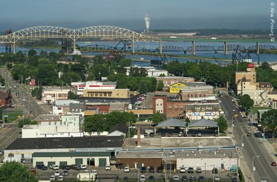 View of The Soo from the Tower of History