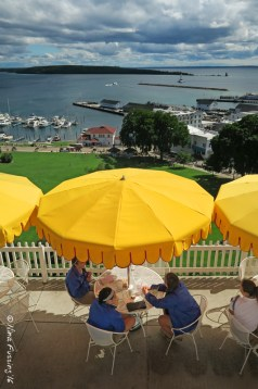 Mackinac Fort Views