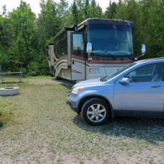 RV Park Review – Mill Creek Campground, Mackinaw City, MI